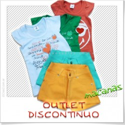Pack short x3 + remera x 3