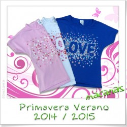 "Remera irregular ""LOVE"""